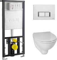 Унитаз с инсталляцией VitrA Arkitekt 9005B003-7211