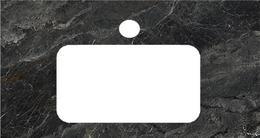 PL3.VT93/80 Спец.изделие декоративн.для раковин,встраиваемых снизу Риальто темный серый лаппат 48*80