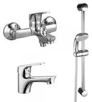 Набор смесителей для ванны Rossinka SET35-83 Хром
