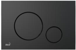 Кнопка управления AlcaPlast черный матовый M678