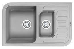 Мойка кухонная Granula GR-7803 алюминиум