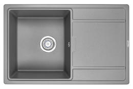 Мойка кухонная Granula GR-7804 алюминиум