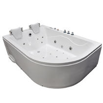 Акриловая ванна Grossman GR-18012L 180x120 с гидромассажем