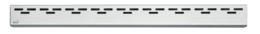 Решетка для душевого лотка AlcaPlast дизайн HOPE 85см хром матовый HOPE-850M