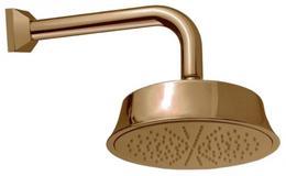Верхний душ с изливом, круглое сечение, бронза Cezares CZR-TDD1-02