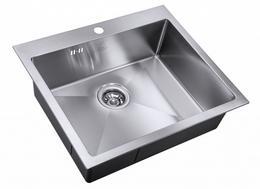 Мойка кухонная Zorg Steel Hammer CLARION SH R 5951