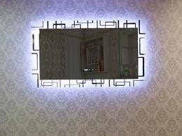Зеркало DETO EM-120 с подсветкой