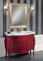 Зеркало Cezares 75x95 Foglia Oro ROMA.04.402
