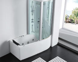 Акриловая ванна Gemy G8040 B R 170x85x220