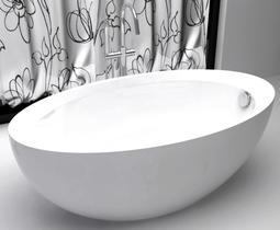 Акриловая ванна ABBER AB9217 160x85x60