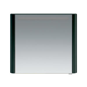 Зеркало-шкаф Am.Pm Sensation M30MCL0801AG левый 80 см антрацит