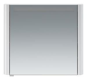 Зеркало-шкаф Am.Pm Sensation M30MCL0801WG левый 80 см белый