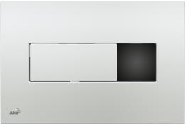Кнопка управления AlcaPlast хром M371S-SLIM