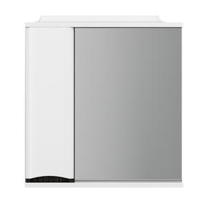 Зеркало-шкаф Am.Pm Like M80MPL0651VF левый 65 см белый-венге