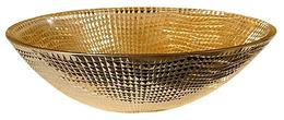 Раковина накладная Boheme золото  814