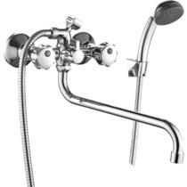 Смеситель для ванны Decoroom с ручным душем хром DR50045R