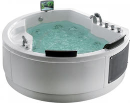 Акриловая ванна Gemy G9063 O 183x162x83