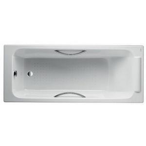 Чугунная ванна Jacob Delafon PARALLEL E2949-00 с отверстиями для ручек 150x70
