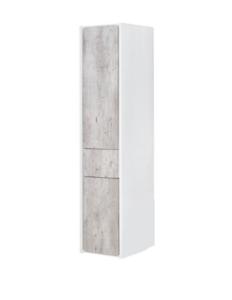 Пенал Roca Ronda ZRU9303005 левый бетон/белый глянец