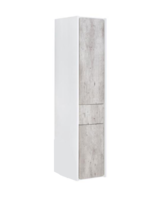 Пенал Roca Ronda ZRU9303006 правый бетон/белый глянец