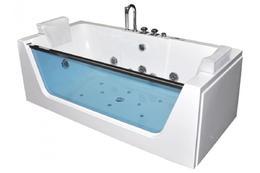 Акриловая ванна Grossman GR-17080 170x80 с гидромассажем