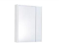 Зеркальный шкаф Roca Ronda ZRU9303009 80 см бетон/белый глянец