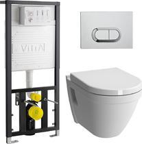 Унитаз с инсталляцией VitrA S50 9003B003-7201