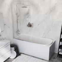 AM.PM LIKE WK80EE Набор: Ванна 170x70 с душевой системой со шторкой и аксессуарами