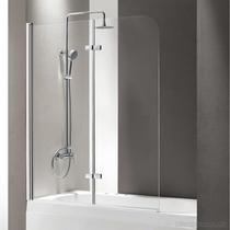 Шторка на ванну Cezares ECO-O-V-12-120/140-P-Cr-L