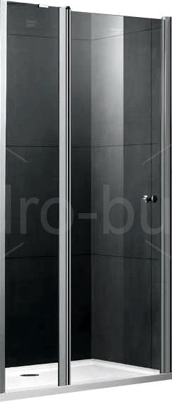 душевая дверь Gemy New Rockcoco S03191b 90x190