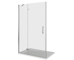 Душевая дверь в нишу Good Door SATURN WTW-140-C-CH-L 140 см левый
