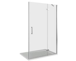 Душевая дверь в нишу Good Door SATURN WTW-110-C-CH-R 110 см правый