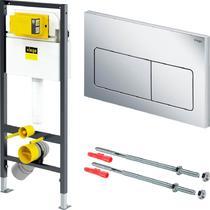 Система инсталляции для унитазов Viega Prevista Dry 8524.10 с кнопкой смыва