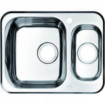 Мойка кухонная IDDIS Strit хром STR60SXi77