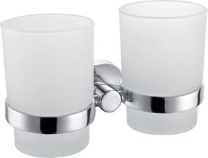 Am Pm Sense A7434340 Двойной стеклянный стакан с настенным держателем