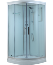 Timo Standart T-6601 S Silver душевая кабина (100*100*220), шт