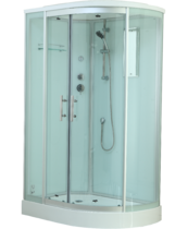 Timo Standart T-6602 Silver L душевая кабина (120*85*220)