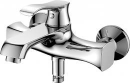 Смеситель для ванны и душа, хром Trula BelBagno TRU-VASM-CRM