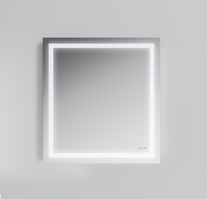 Зеркало Am.Pm Gem M91AMOX0651WG с LED-подсветкой по периметру 65 см
