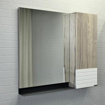 Comforty Зеркало Страсбург 90 см дуб дымчатый 00-00006573