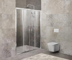 Душевая дверь, хром BelBagno UNIQUE-BF-2-170/200-P-Cr