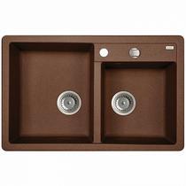 Мойка кухонная IDDIS Vane G шоколад V35C782i87