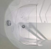 Сиденье W75B-Seat для гидромассажного бокса Sense, прозрачное