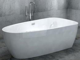 Акриловая ванна ABBER AB9210 170x90x56
