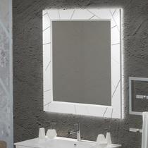 Зеркало Opadiris Луиджи 90 см белый